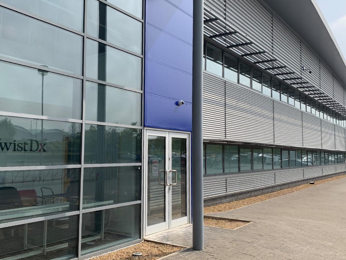 TwistDX : warehouse Phase 1 refurbishment