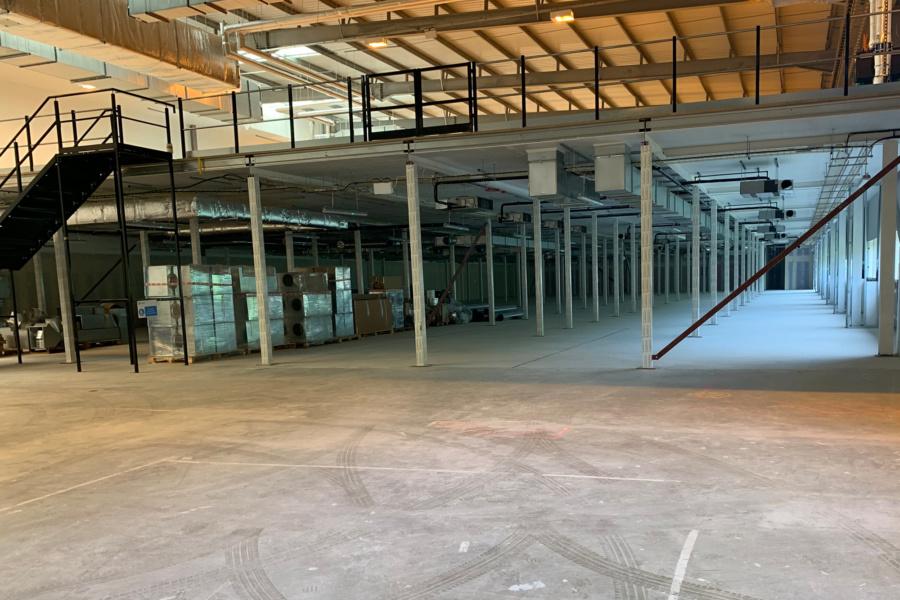 TwistDX : warehouse refurbishment - mezzanine floor