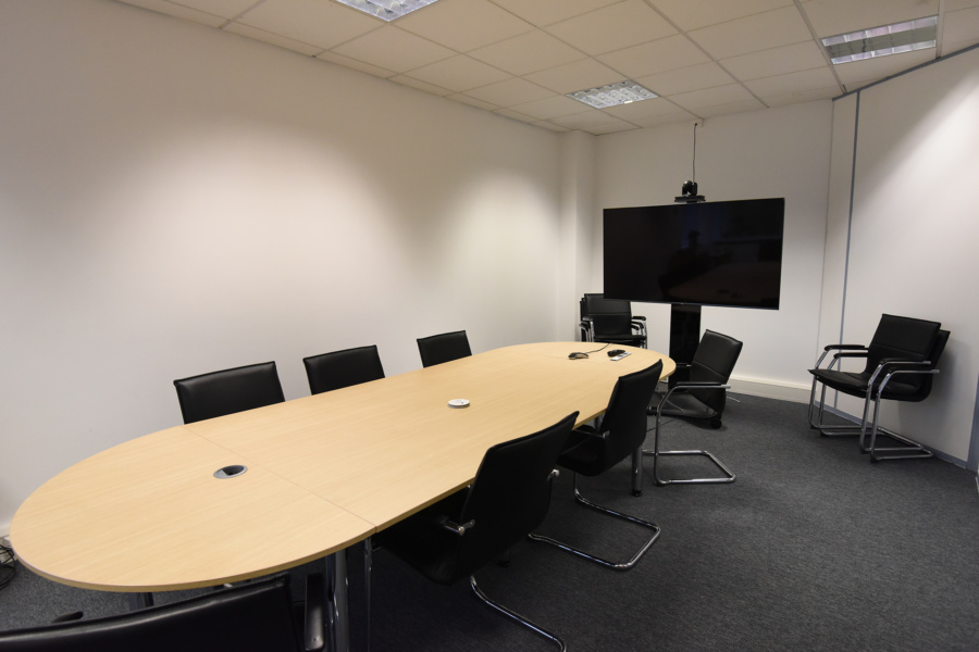 Office fit out meeting room