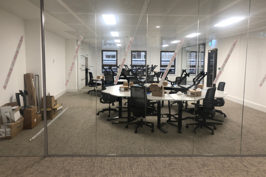 Interflow NRS Group - office fit out