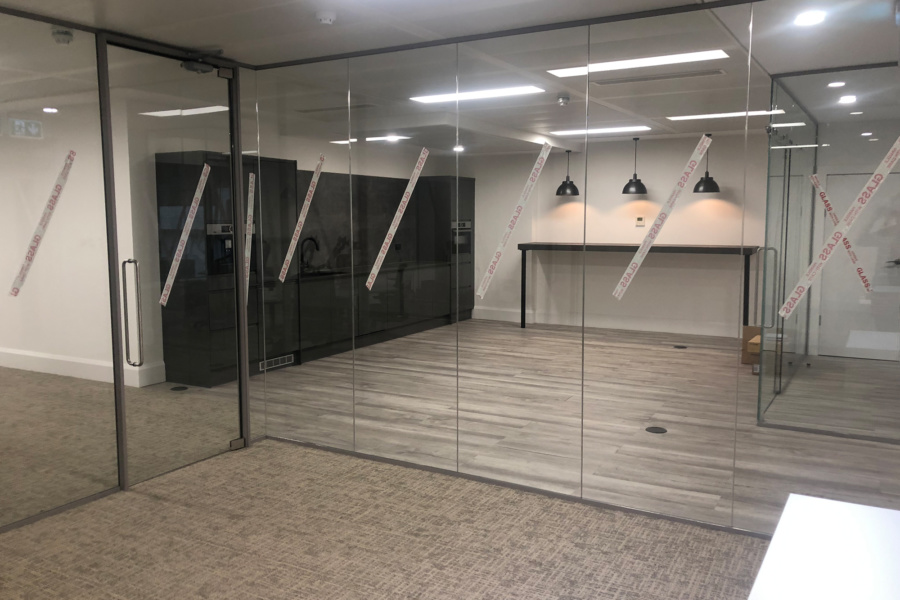 Interflow NRS Group - office glazing
