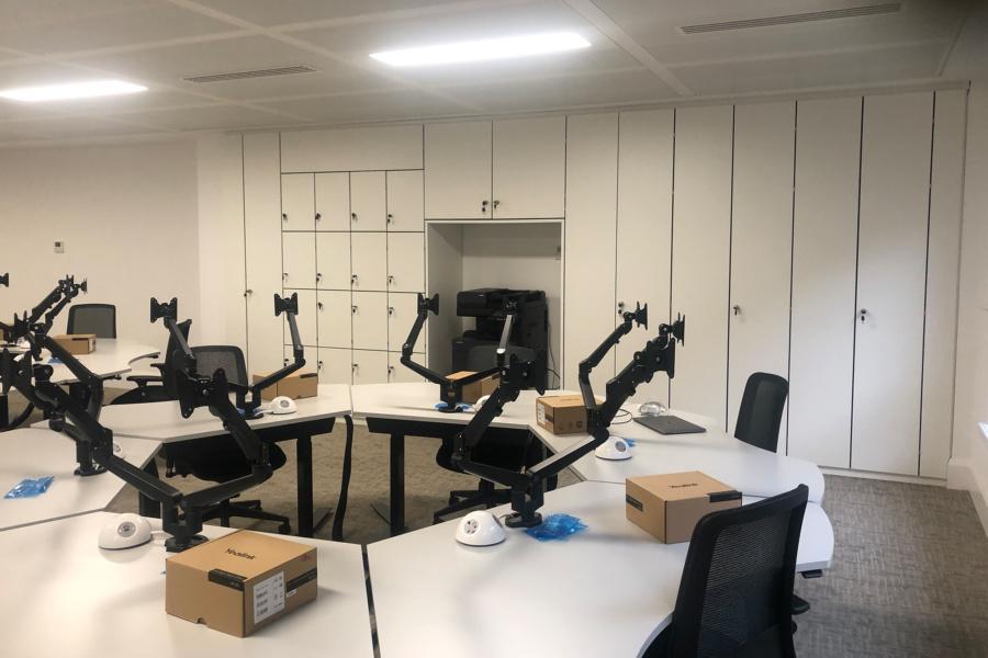 Interflow NRS Group - office storage