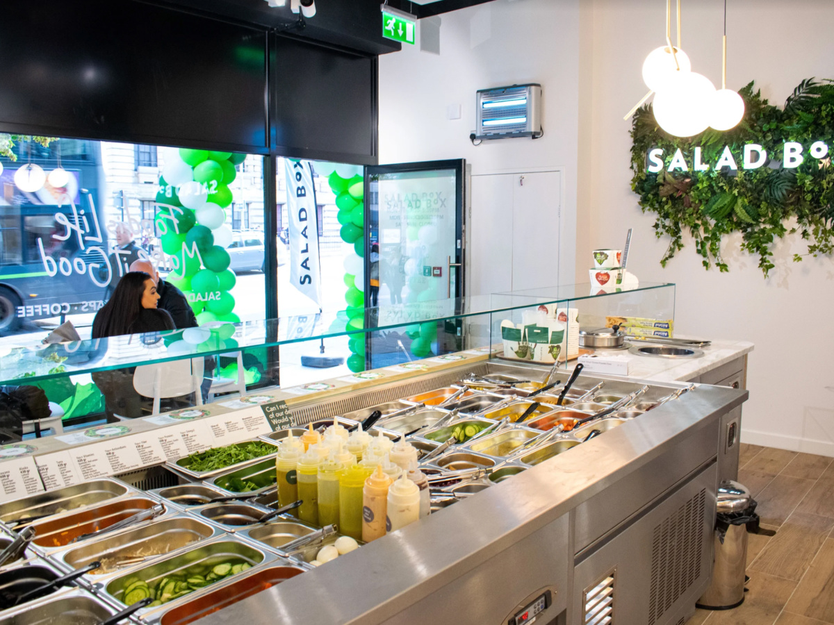 Salad Box - commercial fit out