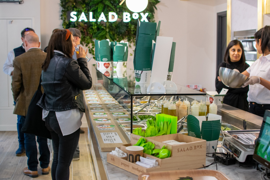 Salad Box - retail fit out
