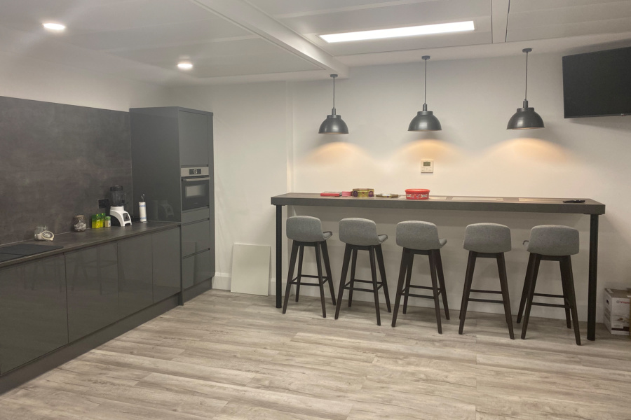 Interflow NRS Group - office kitchen fit out