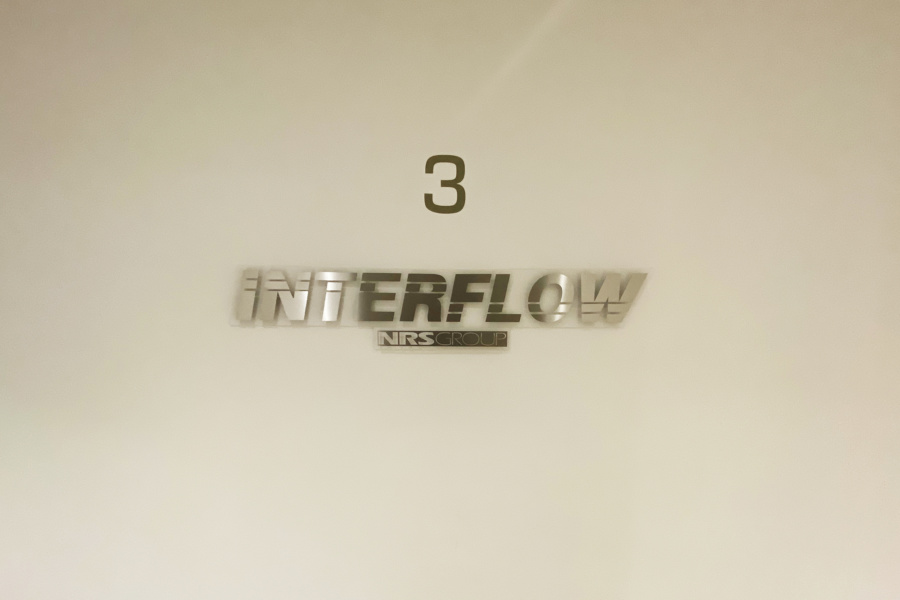 Interflow NRS Group - office signage