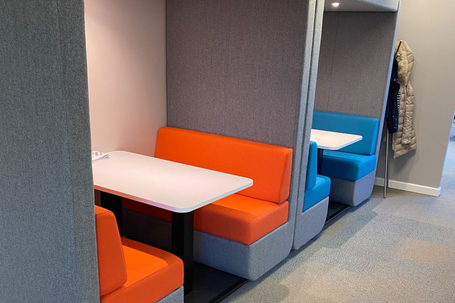 Spottydog Communications - meeting booths
