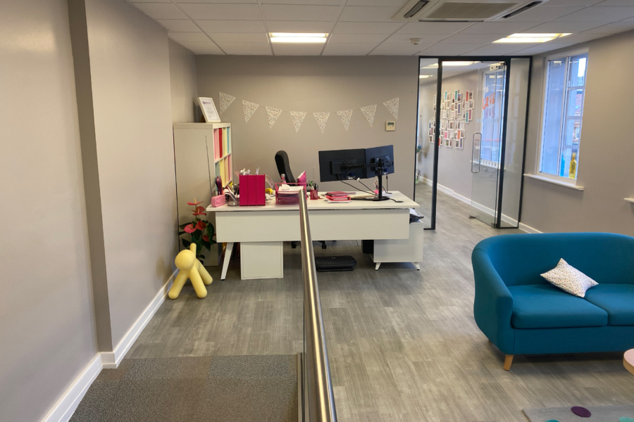 Spottydog Communications - office fit out